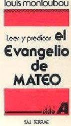 Leer y predicar el Evangelio de Mateo