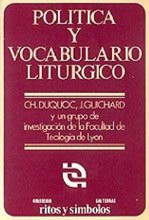 Política y vocabulario litúrgico