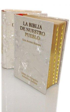 LA BIBLIA DE NUESTRO PUEBLO. Biblia del Peregrino. América Latina. Edición bolsillo nácar