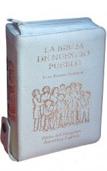 LA BIBLIA DE NUESTRO PUEBLO. Biblia del Peregrino. América Latina. Edición bolsillo. CARTONÉ