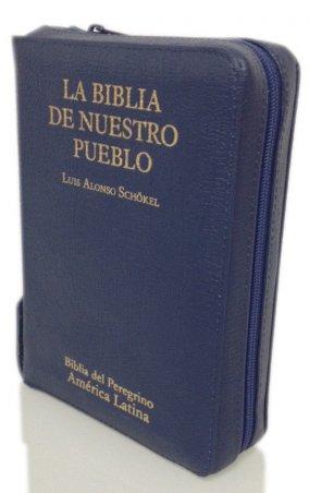 LA BIBLIA DE NUESTRO PUEBLO. Biblia del Peregrino. América Latina. Edición bolsillo. RÚSTICA