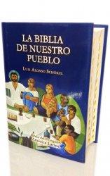 LA BIBLIA DE NUESTRO PUEBLO. Biblia del Peregrino. América Latina. Letra grande. CUERO - LUJO