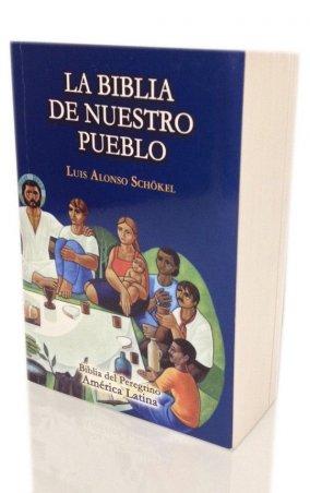 LA BIBLIA DE NUESTRO PUEBLO. Biblia del Peregrino. América Latina. Edición bolsillo vinilo