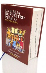 Bolsillo Tapa dura con Lectio Divina - LA BIBLIA DE NUESTRO PUEBLO. América Latina