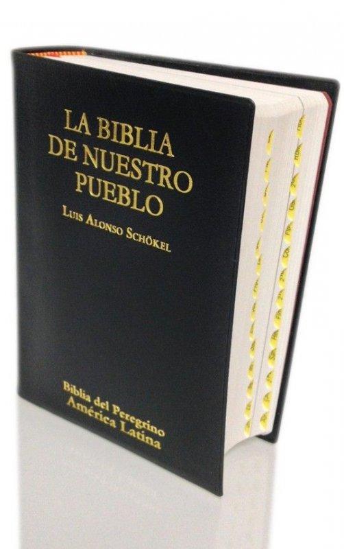Bolsillo Tapa vinilo Índice de uña - LA BIBLIA DE NUESTRO PUEBLO. América Latina