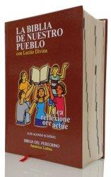 Manual tapa dura con Lectio Divina - LA BIBLIA DE NUESTRO PUEBLO. América Latina