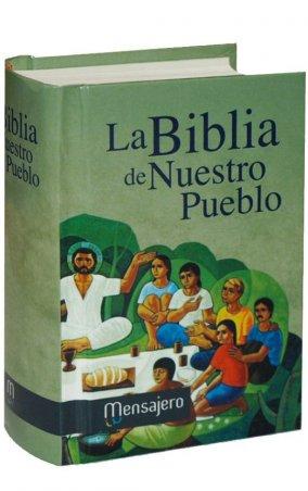 Mini Tapa dura - LA BIBLIA DE NUESTRO PUEBLO. América Latina