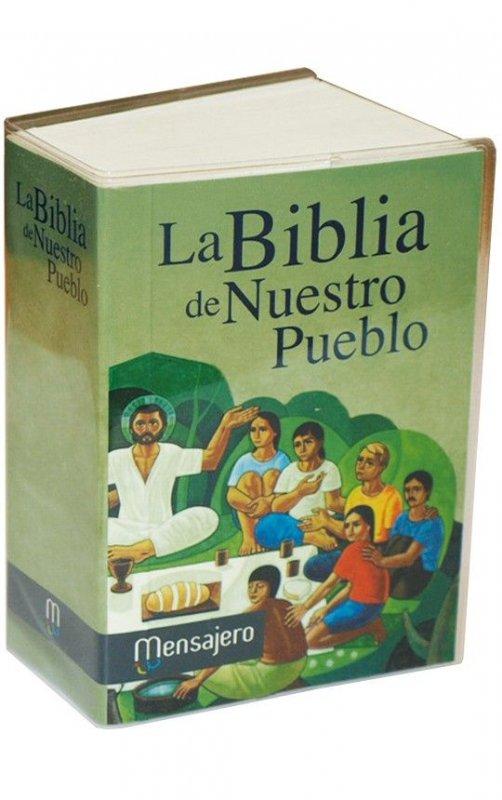 Mini tapa rústica - LA BIBLIA DE NUESTRO PUEBLO. América Latina