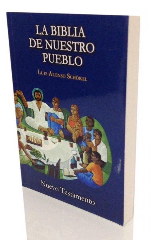 Nuevo Testamento bolsillo tapa rústica - LA BIBLIA DE NUESTRO PUEBLO. América Latina