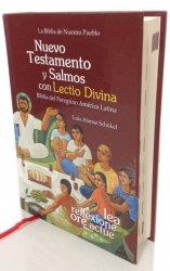 Nuevo Testamento popular, tapa dura con Salmos Lectio Divina - LA BIBLIA DE NUESTRO PUEBLO. América Latina