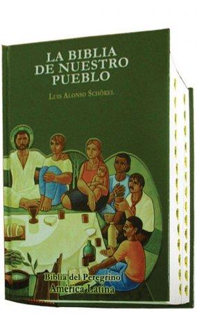 Popular Tapa dura Índice de uña - LA BIBLIA DE NUESTRO PUEBLO. América Latina