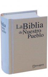 Mini Tapa dura blanca - LA BIBLIA DE NUESTRO PUEBLO. América Latina