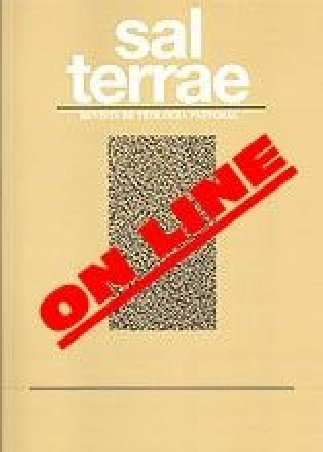 Revista Sal Terrae. Descarga ON-LINE  (sin ejemplar impreso)