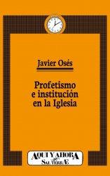 Profetismo e institución en la Iglesia