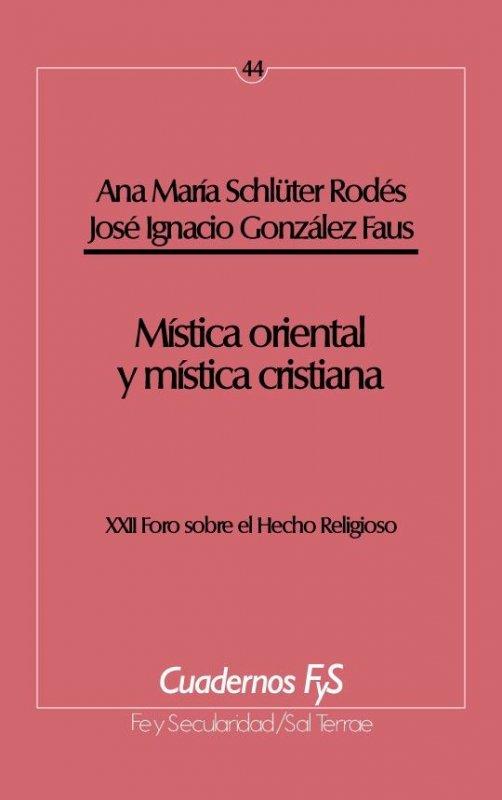 Mística oriental y mística cristiana