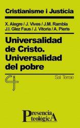 Universalidad de Cristo. Universalidad del pobre