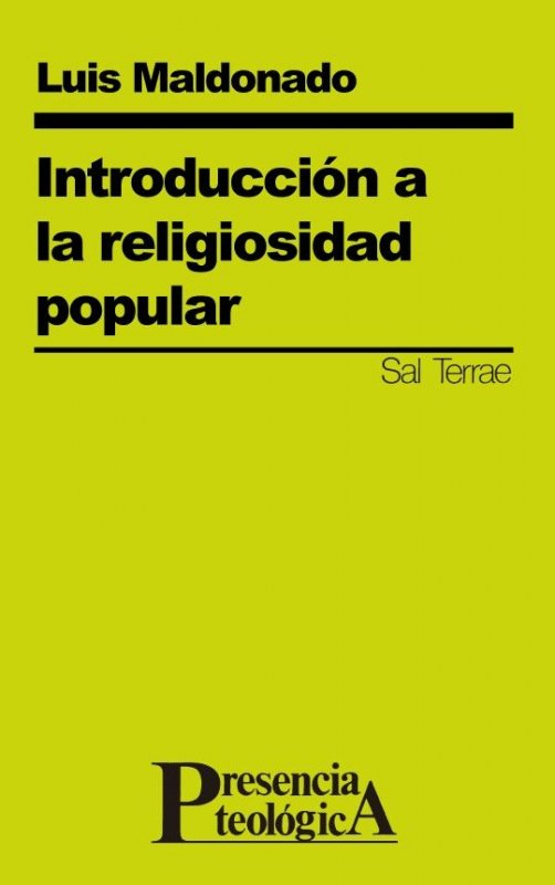Introducción a la religiosidad popular