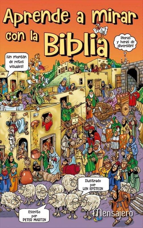 Aprende a mirar con la Biblia. Juegos de agudeza visual