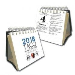 Taco Calendario del Corazón de Jesús 2018 (Peana)
