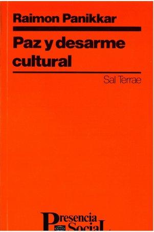 Paz y desarme cultural