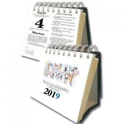 Taco Calendario Portada Números 2018 (Peana)