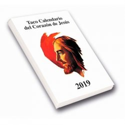 Taco Calendario del Corazón de Jesús 2019 (Pared con imán)