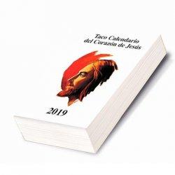 Taco Calendario del Corazón de Jesús 2019 (Clásico)