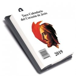 Taco Calendario del Corazón de Jesús 2018 (Pared)