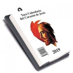 Taco Calendario del Corazón de Jesús 2019 (Pared)