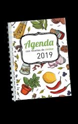 Agenda 2018 con recetas de cocina