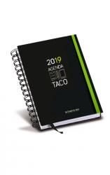 Agenda taco Corazón de Jesús 2016 (cinta verde)