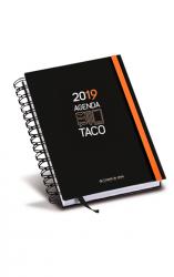 Agenda Taco Sagrado Corazón de Jesús 2018 (cinta naranja)