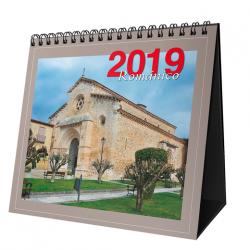 Románico. Calendario de mesa 2018