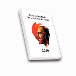 Taco Calendario del Corazón de Jesús 2020 (Pared con imán)