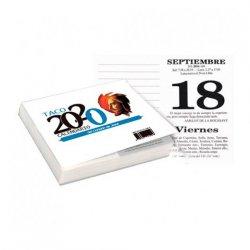 Taco Calendario del Corazón de Jesús 2020 (con notas e imán)