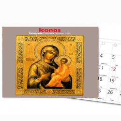 Calendario Pared 2020 Iconos