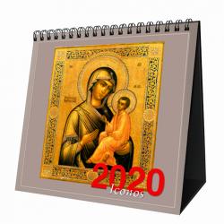 Calendario de mesa 2020 Iconos