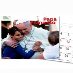 Calendario Pared 2020. Papa...