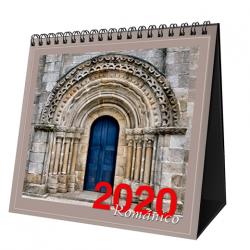Calendario Mesa 2020 Románico