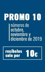 Promo 10 - Revista Mensajero Octubre, Noviembre y Diciembre por 10 euros
