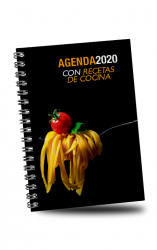 Agenda 2020 con recetas de cocina