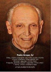 Estampa Pedro Arrupe, S.J....