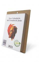 Taco Calendario del Corazón de Jesús 2021 - Pared