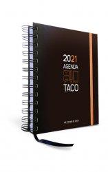 Agenda Taco Calendario del Corazón de Jesús 2021 (naranja)