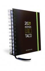 Agenda Taco Calendario del Corazón de Jesús 2021 (verde)