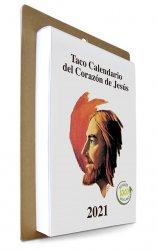 Taco Calendario del Corazón de Jesús 2021- Gigante