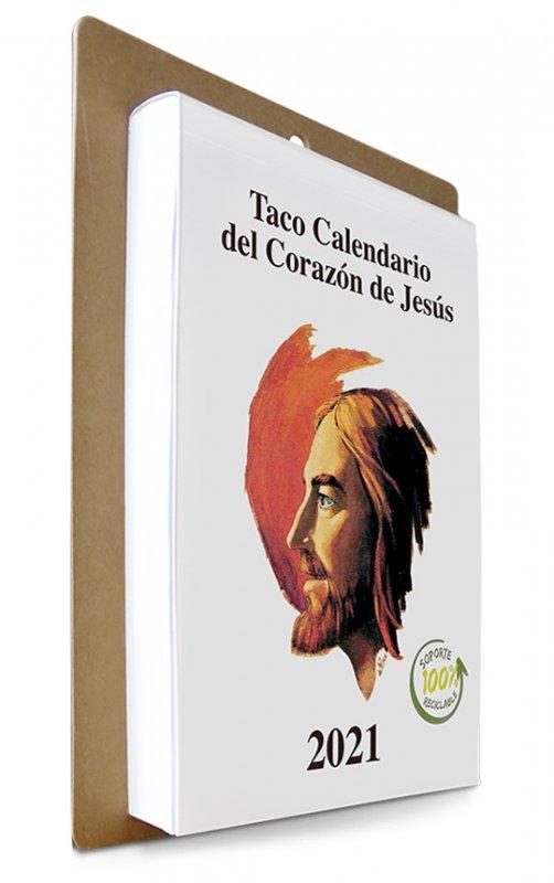 Calendario Gigante 2021 Taco Calendario del Corazón de Jesús 2021  Gigante