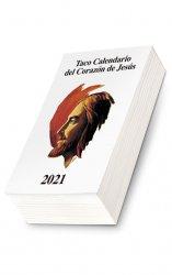 Taco Calendario del Corazón de Jesús 2021 (clásico)