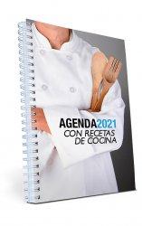 Agenda con recetas de cocina 2021